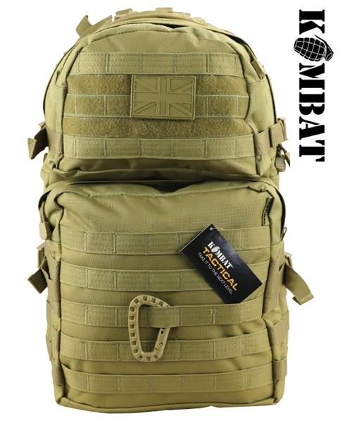 Kombat Molle Assault Pack 28L hátizsák, BTP