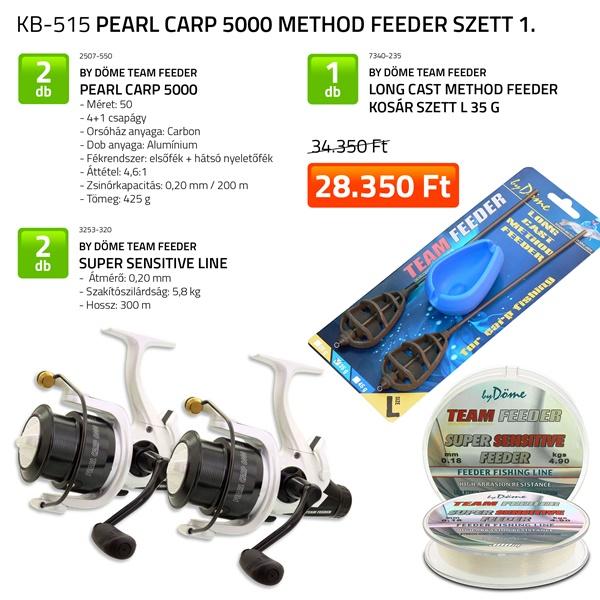 Pearl Carp 5000 Method Feeder szett 2. (KB-515)