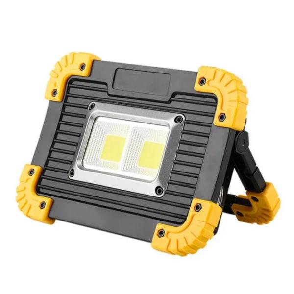 Akkumulátoros COB LED lámpa