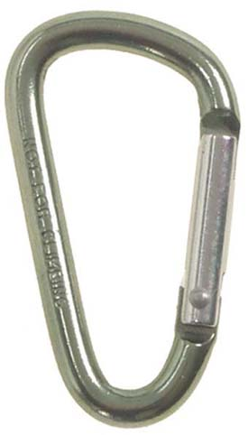 Karabíner 5 cm-es, olív, 27533A