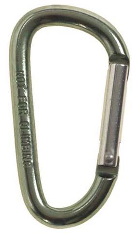 Karabíner 6 cm-es, olív, 27533B