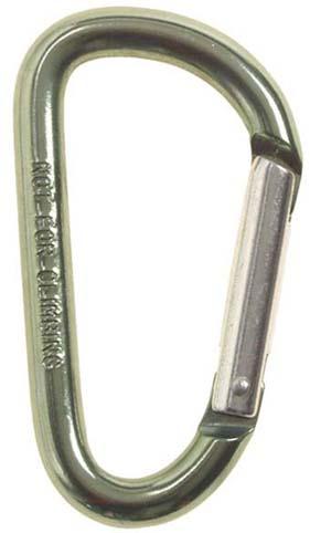 Karabíner 8 cm-es, olív, 27533D
