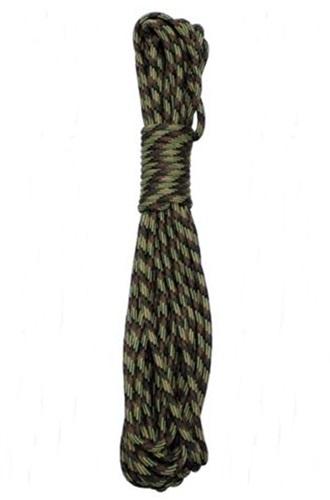 Kötél 5 mm-es, 15 méter, terepszínű, 27501A