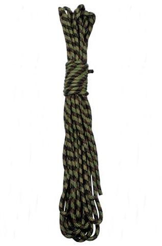 Kötél 7 mm-es, 15 méter, terepszínű, 27501B