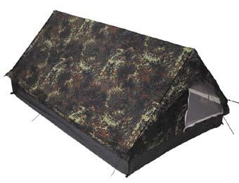"2 szem sátor ""Minipack"", flecktarn, 32123V"