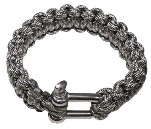 Paracord karkötő seklivel, AT-digi, 2,3 cm, 28183Q