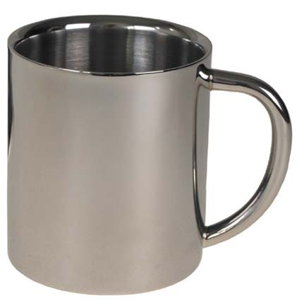 Rozsdamentes pohár 0,25 l-es duplafalú, 33381