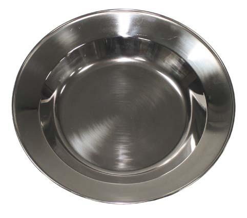Rozsdamentes levesestányér 22 cm-es, 33393