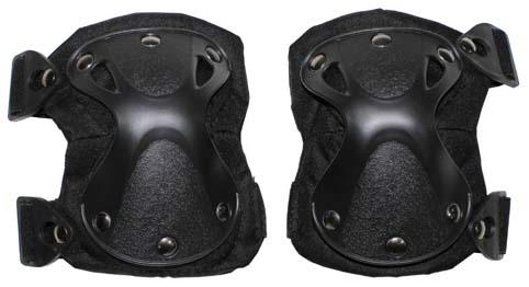 """Térdvédő """"Defence"""" fekete, 27697A"""