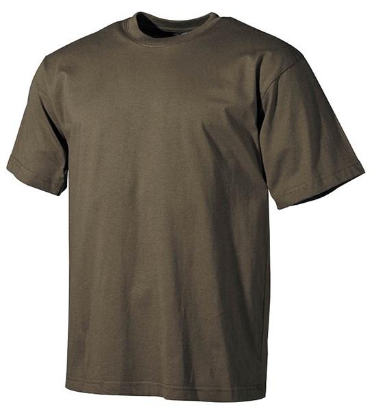 Katonai póló, olív, 00103B