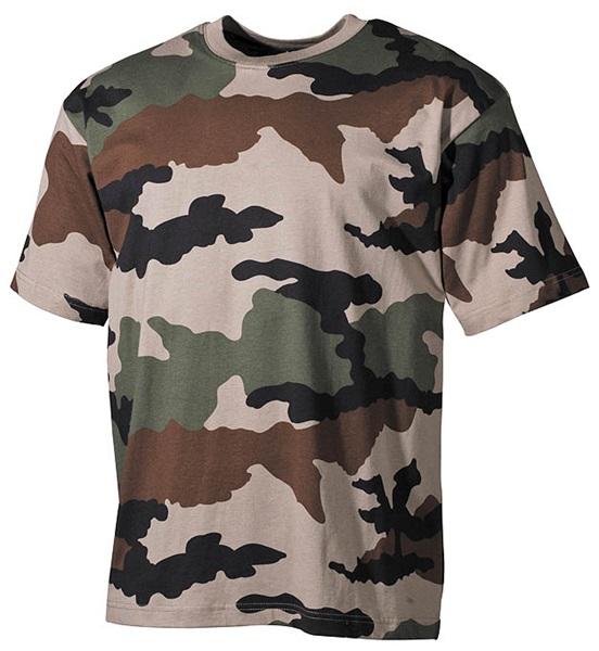 Terepszínű katonai póló, CCE tarn, 00103I
