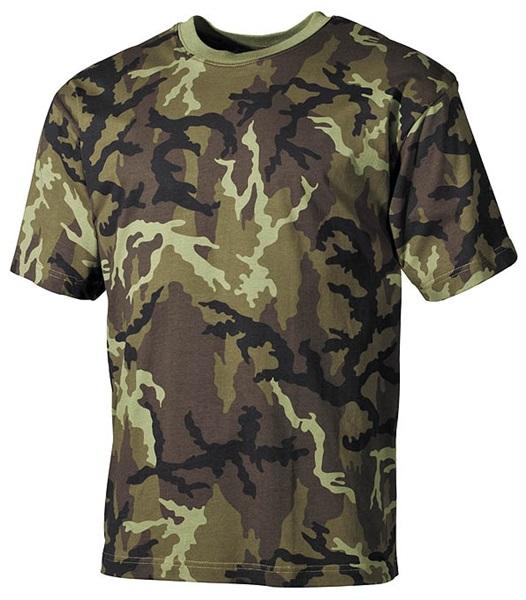 Terepszínű katonai póló, CZ tarn, 00103J
