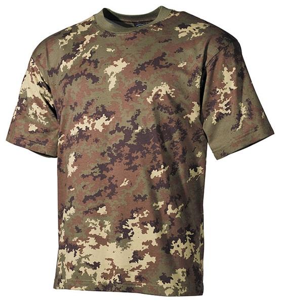 Terepszínű katonai póló, vegetato, 00103L