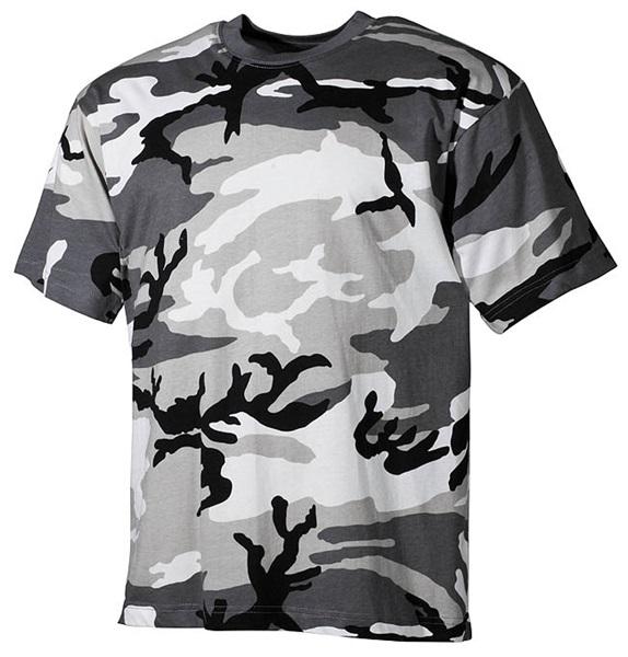 Terepszínű katonai póló, urban, 00103U