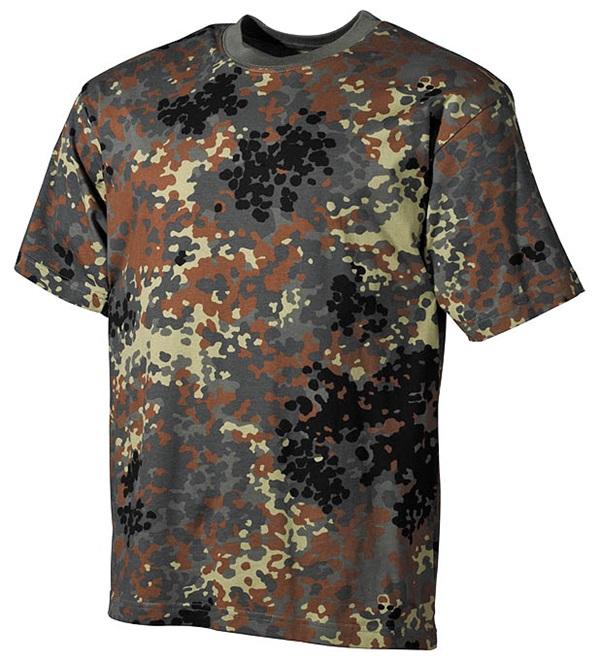 Terepszínű katonai póló, flecktarn, 00103V