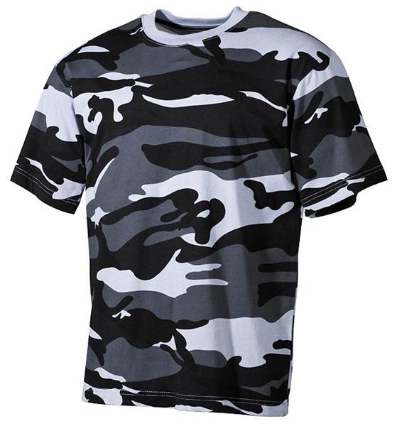 Terepszínű katonai póló, skyblue, 00103X