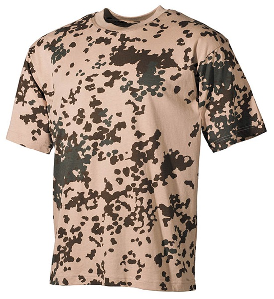 Terepszínű katonai póló, tropical camo, 00103Y