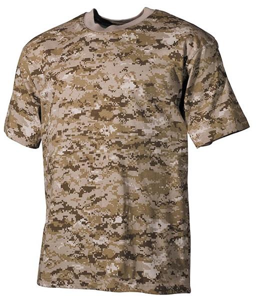 Terepszínű katonai póló, digital desert, 00104A