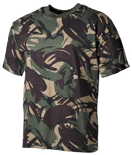 Terepszínű katonai póló, DPM tarn, 00104G