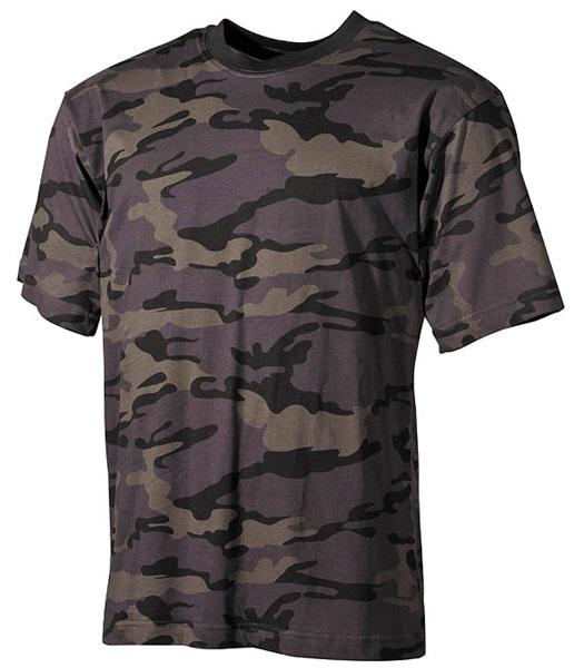Terepszínű katonai póló, combat camo, 00104K