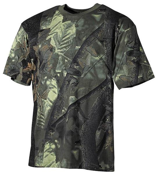 Terepszínű póló, hunter-green, 00105A