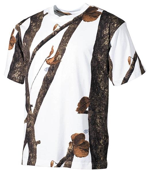 Terepszínű póló, hunter-snow, 00105E