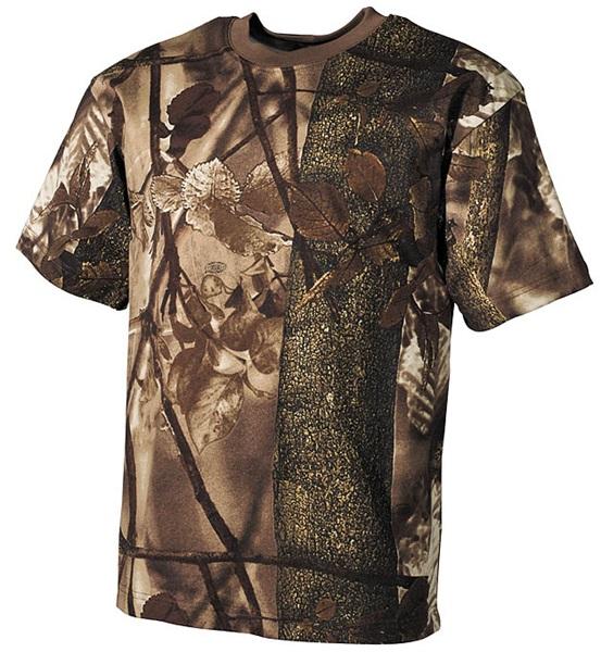 Terepszínű póló, hunter-brown, 00105G