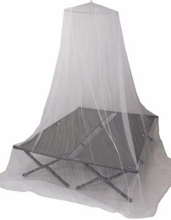 Szúnyogháló dupla ágyra, fehér, 31853L