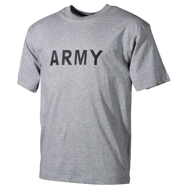 """Katonai póló """"Army"""", szürke, 00253M"""