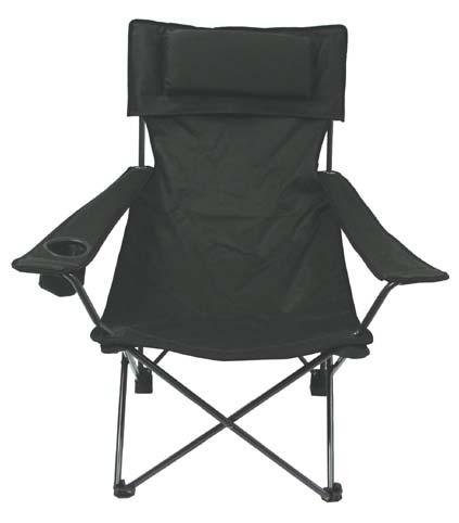 "Camping szék ""Deluxe"" olív, 31881B"