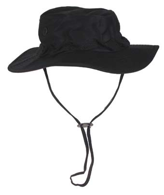 US GI trópusi kalap, fekete, 10713A