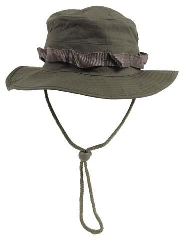 US GI trópusi kalap, olív, 10713B