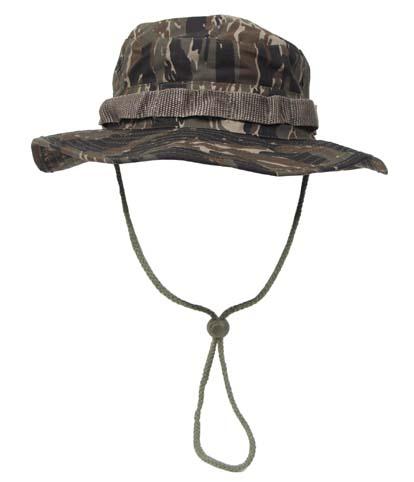US GI trópusi kalap, tiger stripe, 10713C