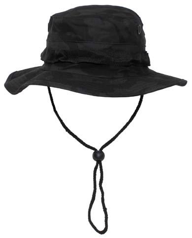 US GI trópusi kalap, night-camo, 10713K