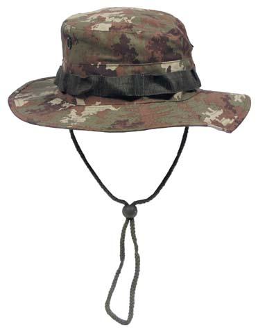 US GI trópusi kalap, vegetato, 10713L