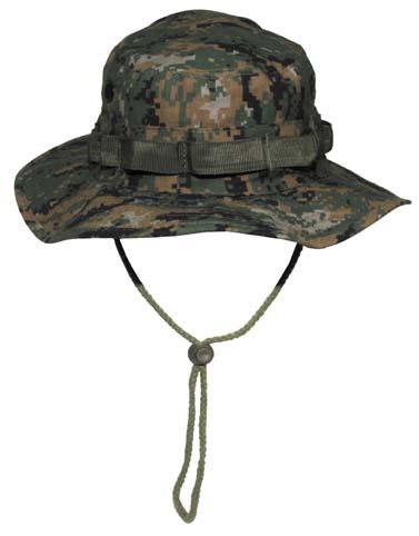 US GI trópusi kalap, digital woodland, 10713S