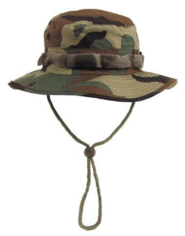 US GI trópusi kalap, woodland, 10713T