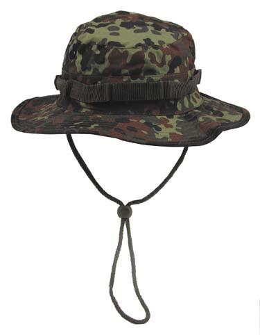 US GI trópusi kalap, flecktarn, 10713V