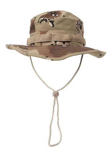 US GI trópusi kalap, 6 színű desert, 10713W