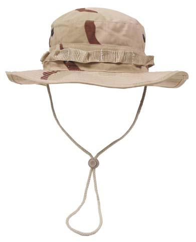 US GI trópusi kalap, 3 színű desert, 10713Z