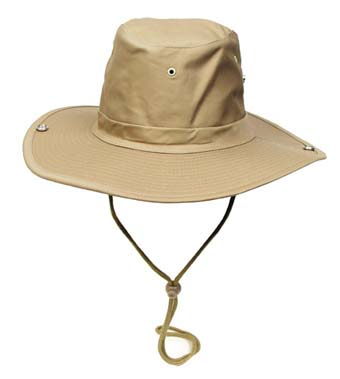 Klasszikus safari kalap, khaki, 10703F