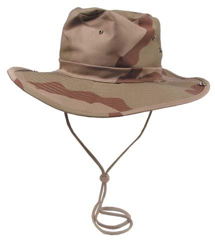 Klasszikus safari kalap, 3 színű desert, 10703Z
