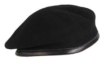 Commando Barett sapka, fekete, 10104A