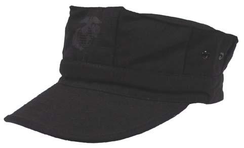 U.S.M.C. katonai sapka, fekete, 10233A