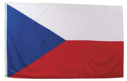 Cseh Köztársaság zászló, 35103J