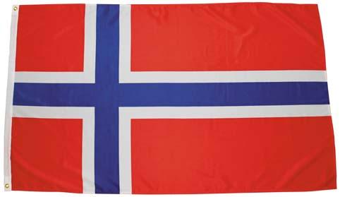 Norvégia zászló, 35103X