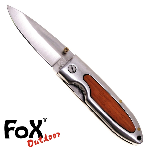 Fox egykezes bicska fa betéttel, 44583B