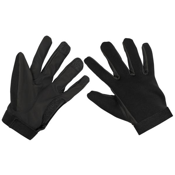 Neoprén kesztyű, fekete, 15803A