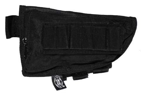 Patrontartó táska puskatusra, fekete, 30785A