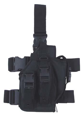 Combtok 3 db tártartóval, fekete, 30711A